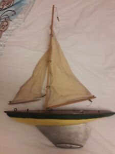 Antique 'Ailsa' Pond Yacht by Turners of Larg Scotland