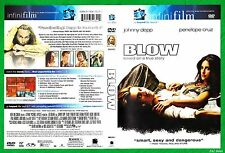 Blow (DVD, 2001) Johnny Depp, Penélope Cruz, Paul Reubens