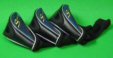 LOT OF 3 Adams Golf Speedline F11 Velocity Slot Tech Fairway Wood Headcovers