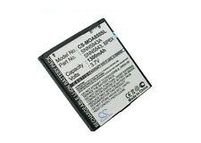 3.7V battery for MOTOROLA Admiral, Xprt, XT311, I1, Milestone, ME722, Droid 2 Gl