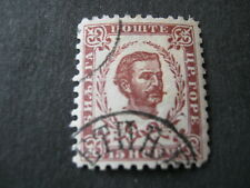 MONTENEGRO 1898 COLOURS CHANGE  15n BROWN-LAKE ( perf 10.5)  FINE USED