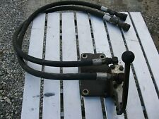 Gannon 1 Spool Auxiliary Hydraulic Valve For Ford Tractor