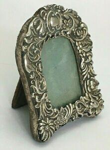Vintage Miniature Sterling Silver Photo Frame C1930-40