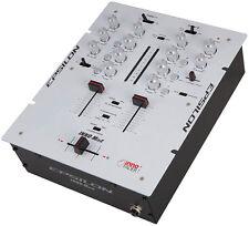 PRECISION POWER iNNO-Mix2 (WHITE) Epsilon Ultra compact Pro DJ battle mixer w...