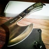 Camping Survival Axe Thick Stainless Steel Non-slip Outdoor High quality Axe New