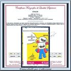 2005 Italia Repubblica Varietà Olimpiadi Torino 2006 Neve Gliz Certificato **