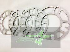 4 WHEEL SPACERS 3MM 1/8"