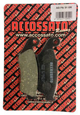 Pastiglie Accossato Organica Anteriori Honda XL 650V Transalp 1999 AGPA51OR