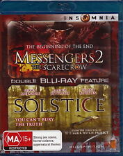 Messenger 2: The Scarecrow / Solstice - Horror / Thriller - NEW Blu-Ray