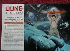 2000 Magazine Short Story 'Dune Atreides' by Brian Herbert w/ Kent Williams Art