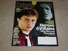 HARRY POTTER DANIEL RADCLIFFE Heroes Villains 2009 ENTERTAINMENT WEEKLY MAGAZINE