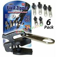 6 Pz Universal Istante Difficoltà Cerniera Riparazione Ricambio Zip