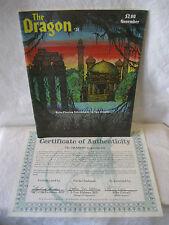 1979 vintage DRAGON magazine #31 Alan Burton cover art HOLMES story TROLLSHEAD !