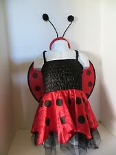 LADYBUG DRESS-UP COSTUME DRESS TODDLER GIRL 2T
