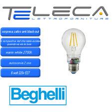Beghelli 56305 Sorpresa ZafiroLED ANTI BLACK-OUT Lampada LED 6W 2700K E27 230V