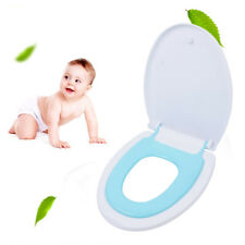 V Shaped Toilet Seat Toilet Lid Easy Install Clean W/ Built-in Potty Adjustable