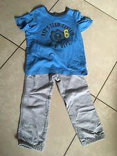 Carter's Boys 2 Piece Short Sleeve Pajamas Set 4