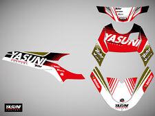Kit deco KUTVEK Yasuni Factory rouge/noir Yamaha Slider/ MBK Stunt 50