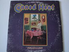 CANNED HEAT HALLELUJAH VINYL LP 1969 LIBERTY RECORDS BLUES ROCK SAME ALL OVER