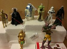 Star Wars Christmas 8 Ornament Set Darth Vader-Yoda-R2D2-C3PO-Kylo Ren- Zeb-C3PO
