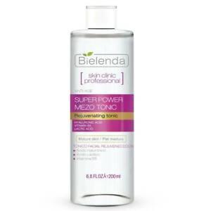 Bielenda Skin Clinic Actively Rejuvenating Face Toner Hyaluronic Acid 200ml