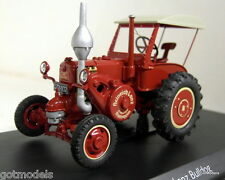 Schuco 1/43 Scale 03376 Lanz Bulldog with roof red diecast model tractor