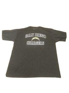 Retro 2011 NFL San Diego Chargers Gray Short Sleeve T-Shirt men Sz XL NWOT