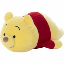 Disney Takara Tomy Winnie the Pooh Mocchi Lie Down (S Size) Soft Plush Japan