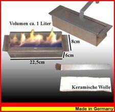 1 litre bio éthanol réglable brûleur avec de la laine céramique