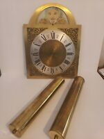 Antique or Vintage Grandfather Clock Works Pendulum Weights Germany Brass