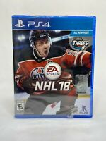 NHL 18 PS4 | Xbox One New Sealed Hockey Game EA Sports FAST SHIP