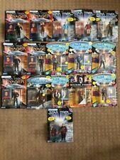 Star Trek, 16 figure lot, Voyager, The next generation, etc.  NIP, Vintage, 1993