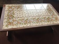 G Plan 1970's Coffee Table, with Tiled Inset Top
