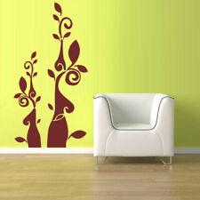 Wall Vinyl Sticker Decal Flower Flowers Modern Decal (Z1085)