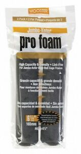 BOX OF 12 PACKS - Wooster Jumbo-Koter Pro Foam Roller Cover,No RR308-6 1/2