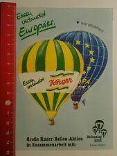 Aufkleber/Sticker: Große Knorr Ballon Aktion Essen verbindet (0608164)
