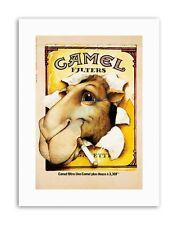 CAMEL CIGGARETTES. 1976 POSTERHOME DECOR Poster Advertising Canvas art Prints