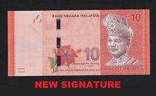 Malaysia 10 Ringgit (2018) P53a NEW SIGNATURE UNC