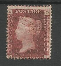 SG 43-4 THE 1858-79 PENNY RED PL.200 (OA) MINT  CAT £75