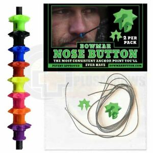 Bowmar Nose Button for Archery Compound and Recurve Bow String
