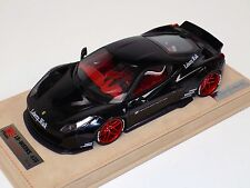 1/18 Ferrari 458 Liberty Walk LB Performance Gloss Black Red w/decals N BBR / MR