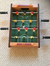 Mini Tabletop Football Game Kids Gadget Novelty Good Clean Condition