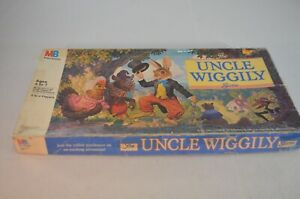 Vintage The Uncle Wiggily Board Game  Milton Bradley Complete