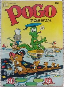 POGO POSSUM #8 VG+ 4.5 DELL 1-3/1952