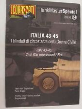 Book: Italy 43-45- Civil War Improvised AFVs (TankMaster Special) Bilingual Text
