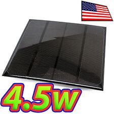 4.5W Solar Panel - 6V / 720mA - 165 x 165 mm - Epoxy Coated - Monocrystalline