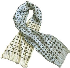 PAUL SMITH Ladies Scarf  63% Cotton  37% Silk  150 x 28 cm