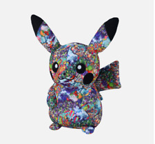 Pokemon pikachu Soft Plush Doll From Japan Center Shibuya limited Graffiti Art