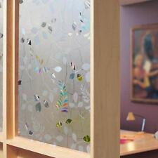 Transparente sin Pegamento Adhesión Estática Privacidad Cristal 3D Esmerilado