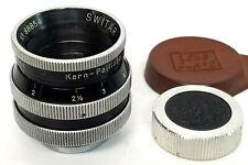 Bolex Kern Paillard Switar AR 25mm f1.4 H16 RX for Bolex Cameras C mount cine